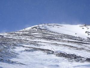 1492乗鞍岳最高地点の剣ヶ峰