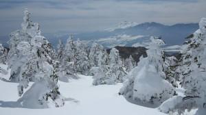 浅間山がきれいです